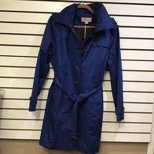 Michael Kors XL Jacket Royal Blue w/hood
